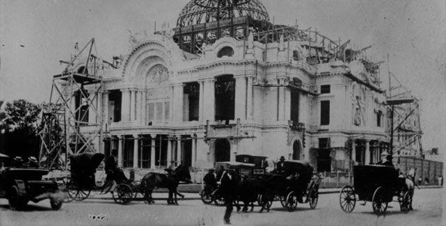 Palacio de Bellas Artes 1912