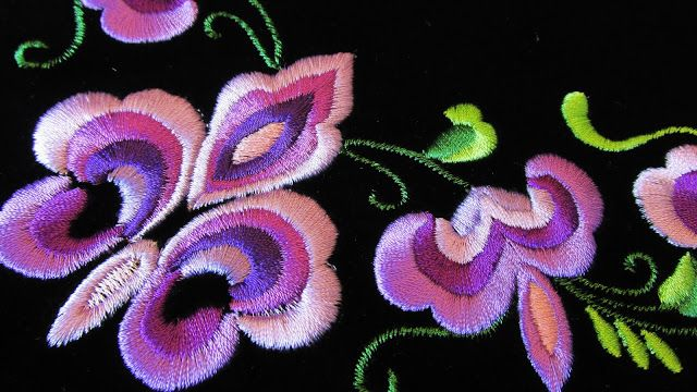 World Through my Photos: Beautiful Beltestakk Embroidery