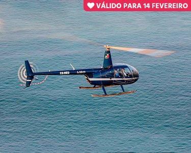 Amor, Vamos Voar? Passeio de Helicóptero Exclusivo - 5 Minutos | Lisboa