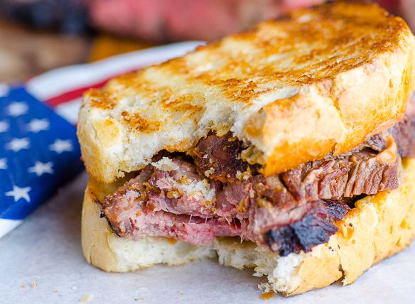 Texas Toast Tri-Tip Sandwich - Independence Day Celebration     Print     Prep time  20 mins    Cook time  45 mins    Total time  1 hour 5 mins   &