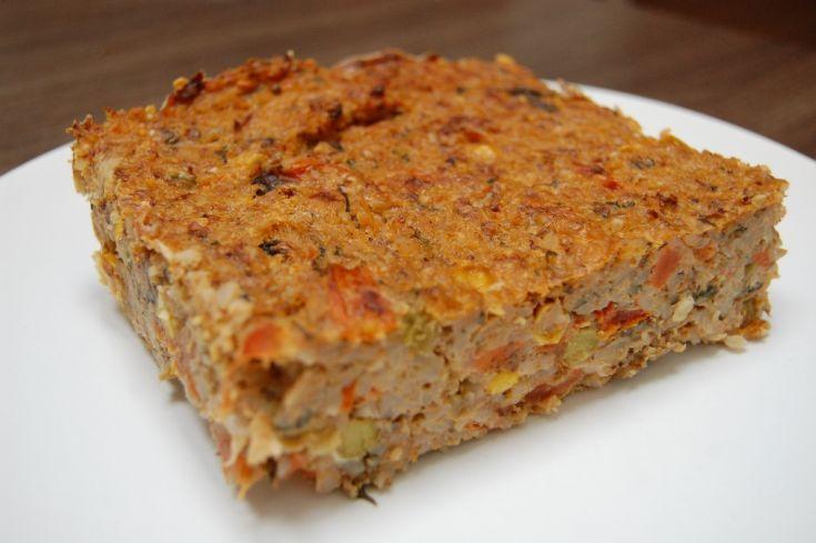 Fotorecept: Zeleninový pohánkový nákyp