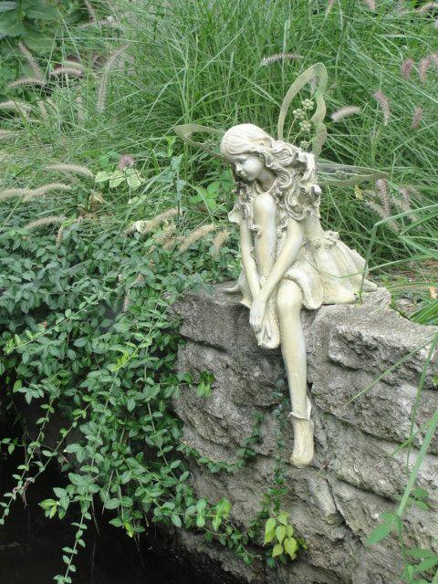 Garden Statue Fairy: Fairy Garden Statue