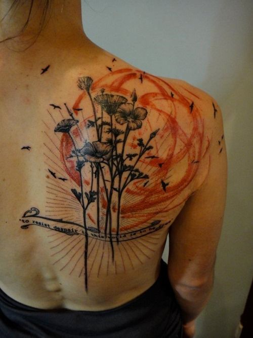 34 best images about trash polka on pinterest cool back for Lake geneva tattoo