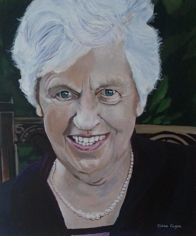 Portrait. Painting. Art. www.ciarafaganart.com