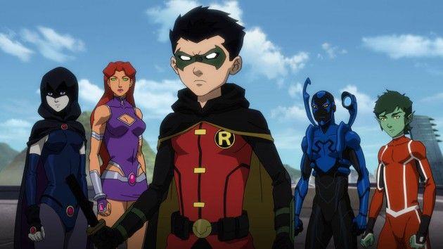 La Ligue des Justiciers vs Les Teen Titans : photo 1 © Warner Bros. Animation - cliquez pour agrandir
