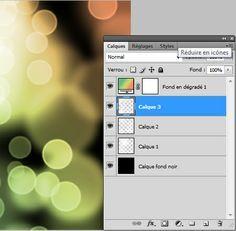 Tuto photoshop : effet ronds lumineux ou (faux) bokeh