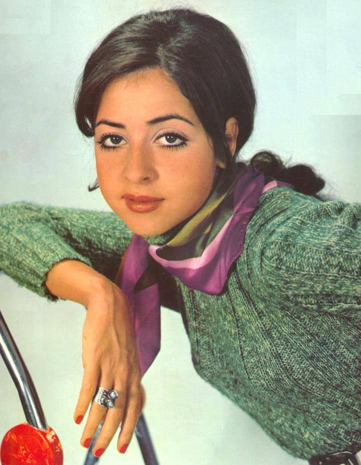 """Vicky Leandros----is a Greek singer with a long international career.  In 1972, she achieved worldwide fame after winning the Eurovision Song Contest with the song, """"Après Toi"""", while representing the country of Luxembourg."""