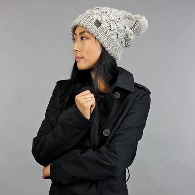 Womens Chunky Beanie - The Lili - The Lili beanie can be easily described  in two words  super cute   super cozy. This beanie comes in a soft wash  wool blend ... f6694561b29c
