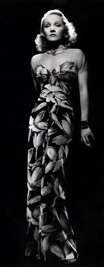 Marlene Dietrich, around 1930, with a dress that would be fab even today if you could find a rocking body like her's