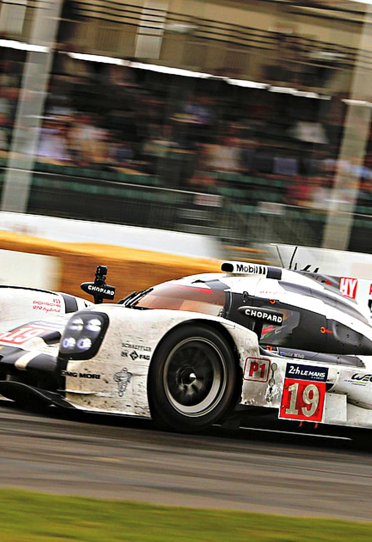 F1championship the porsche 919 which won at 24 hours of le mans 2015 with nico