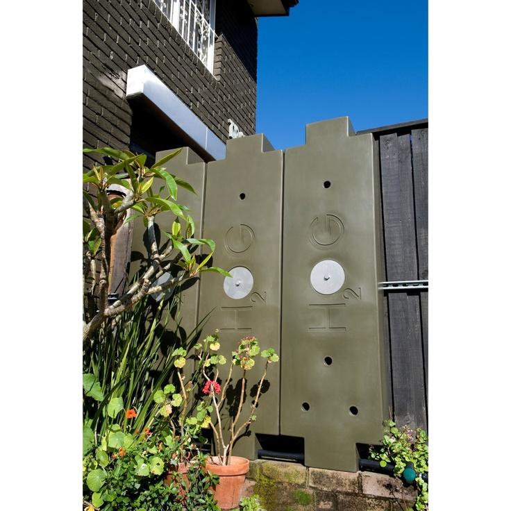 50-Gallon Polyethylene Rainwater HOG Harvesting System