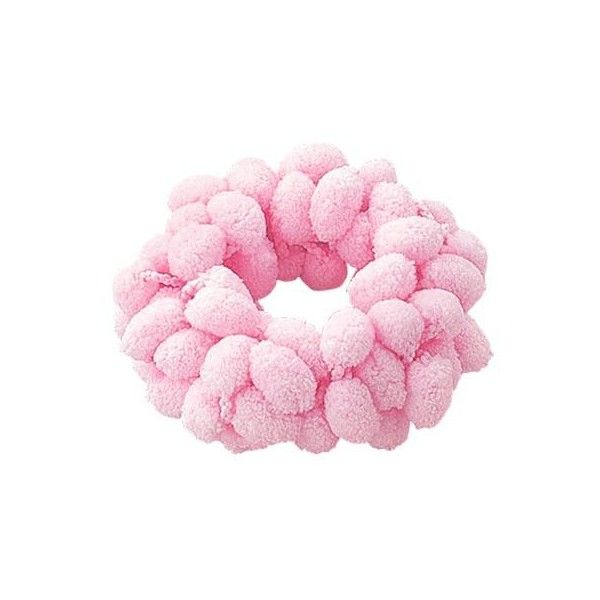 Adorable Moko Moko All Pink Theme Scrunchie ($4.48) ❤ liked on Polyvore featuring accessories, hair accessories, fillers, jewelry, pink, scrunchie hair accessories, hair puff accessories and pink hair accessories