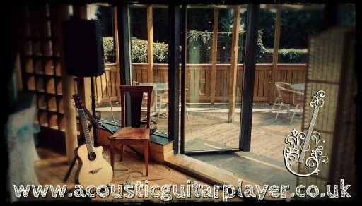 Been a great day for a summer wedding. www.acousticguitarplayer.co.uk