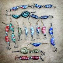 You will receive 15 lures like the ones shown in the picture. Each lure is hand made in Montgomery, Alabama. Each lure is packed seperatly and ready for resale. If you have any questions please check out our frequently asked questions or drop us an email.  Thank you FOLK LURES TEAM.  FOLK LUR...
