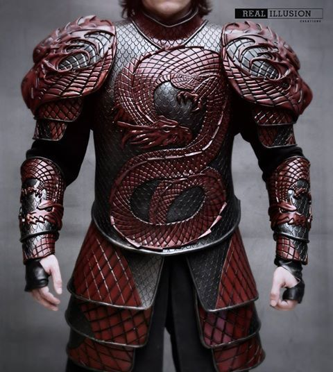 Dracula Untold EVA Foam armor by Real Illusions Creations