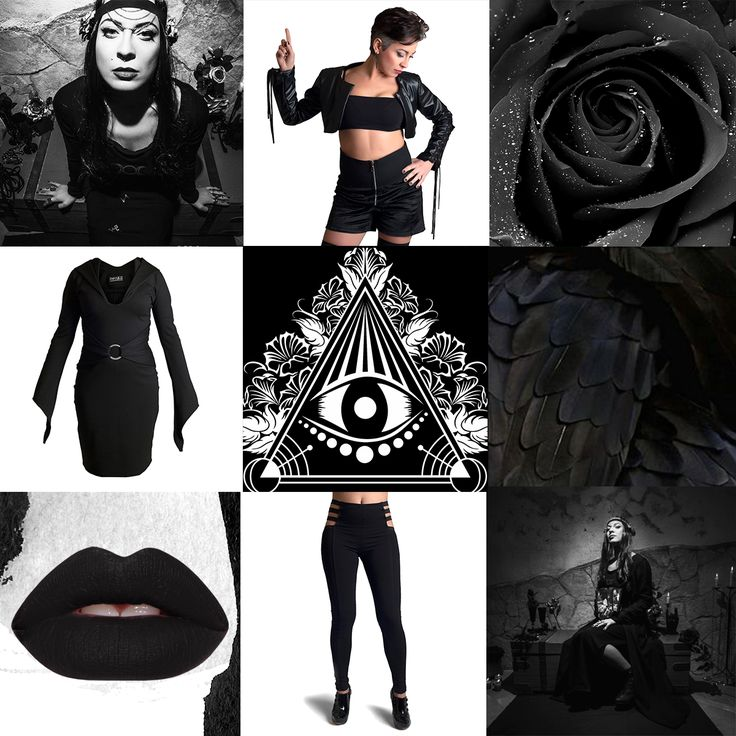 Women who wear #black live mysterious lives. 