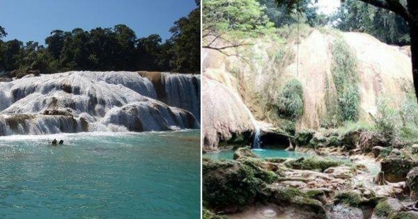 Estudian desvió de agua en cascadas Agua Azul en Chiapas - EL DEBATE
