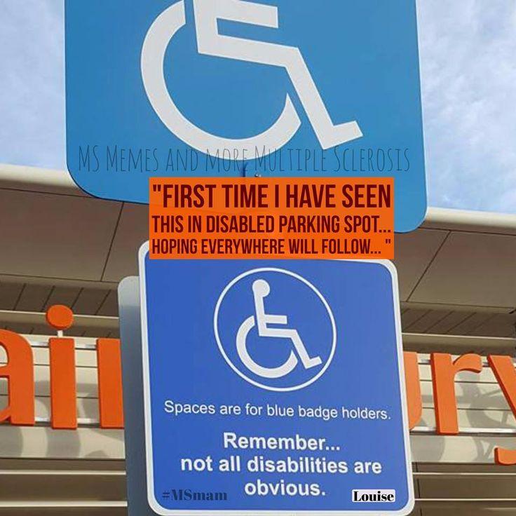 2cfea94dec6582b93e1ea62e20f605d1 parking spots invisible illness 935 best invisible illness memes and more images on pinterest,Multiple Sclerosis Memes