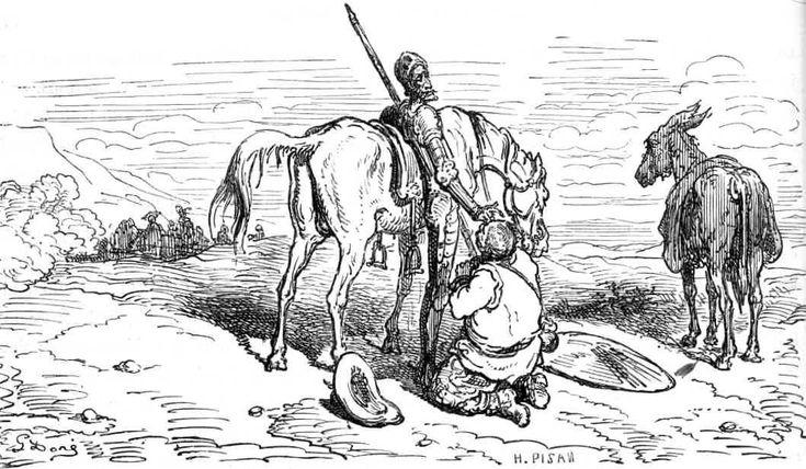 don quijote illustration - Google keresés: