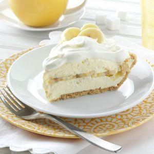Banana Cream Pie Recipe from Taste of Home -- shared by Jodi Grable of Springfield, Missouri