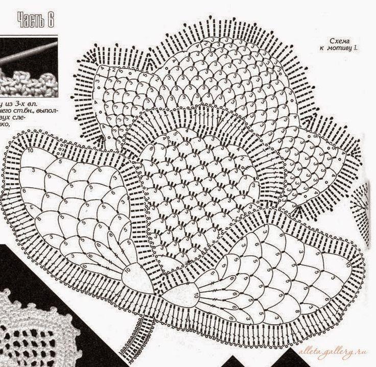 Crochet: merletto d'Irlanda