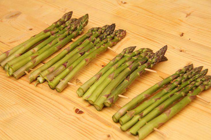 Grillezett zöld spárga recept