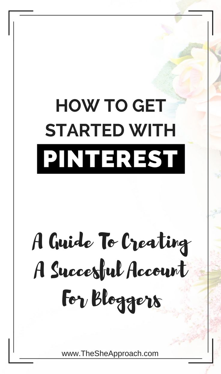 How to get started with Pinterest - The ultimate guide to mastering Pinterest and increasing your blog traffic for new bloggers. Read about my Pinterest strategy here! Blog traffic tips. Blogging tips for online entrepreneurs.