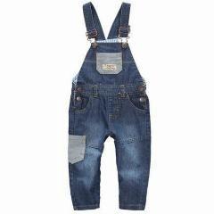 [ 42% OFF ] Hot Brand Next Children Pants Baby Denim Overalls Baby Blue Jeans Jumpsuit Romper Boy's Jeans Kids Overalls