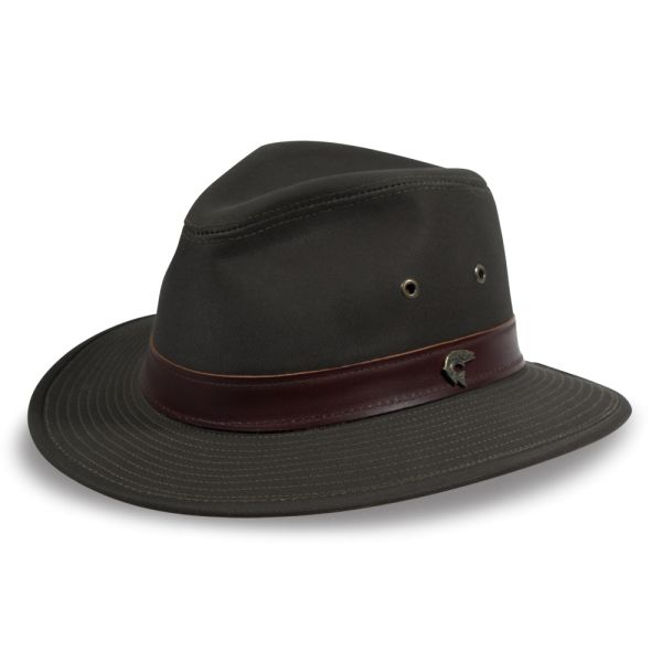 Florence Lake Cotton Fedora Hat  80a9f8cd017c