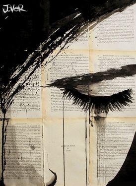 "Saatchi Online Artist Loui Jover; Drawing, ""weep"""