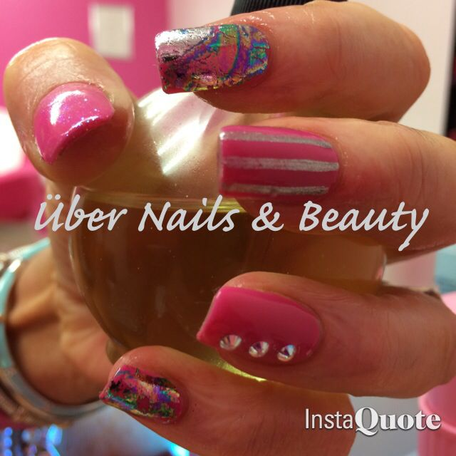 Pink and foils