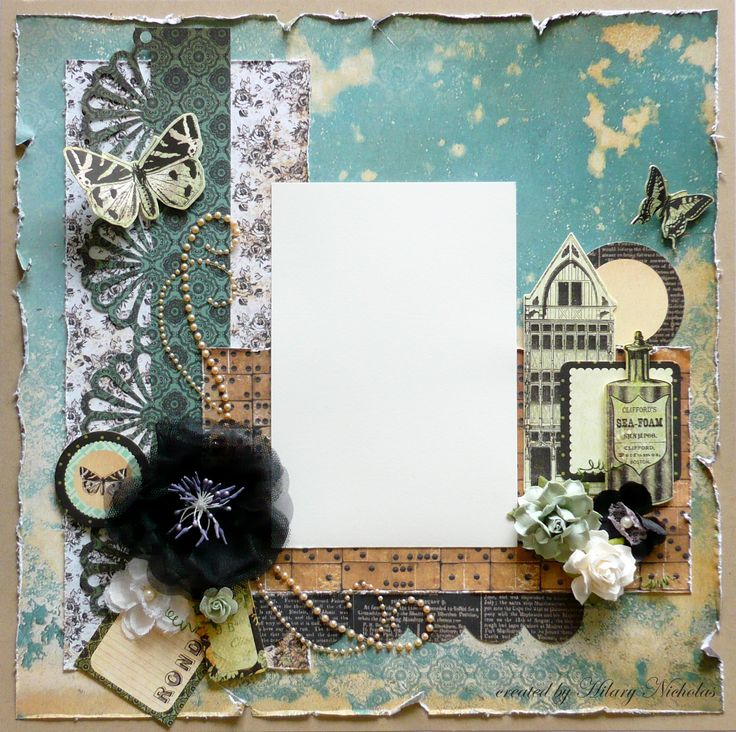 Layout Kit with Kaisercraft 75 Cents, created by Hilary Nicholas