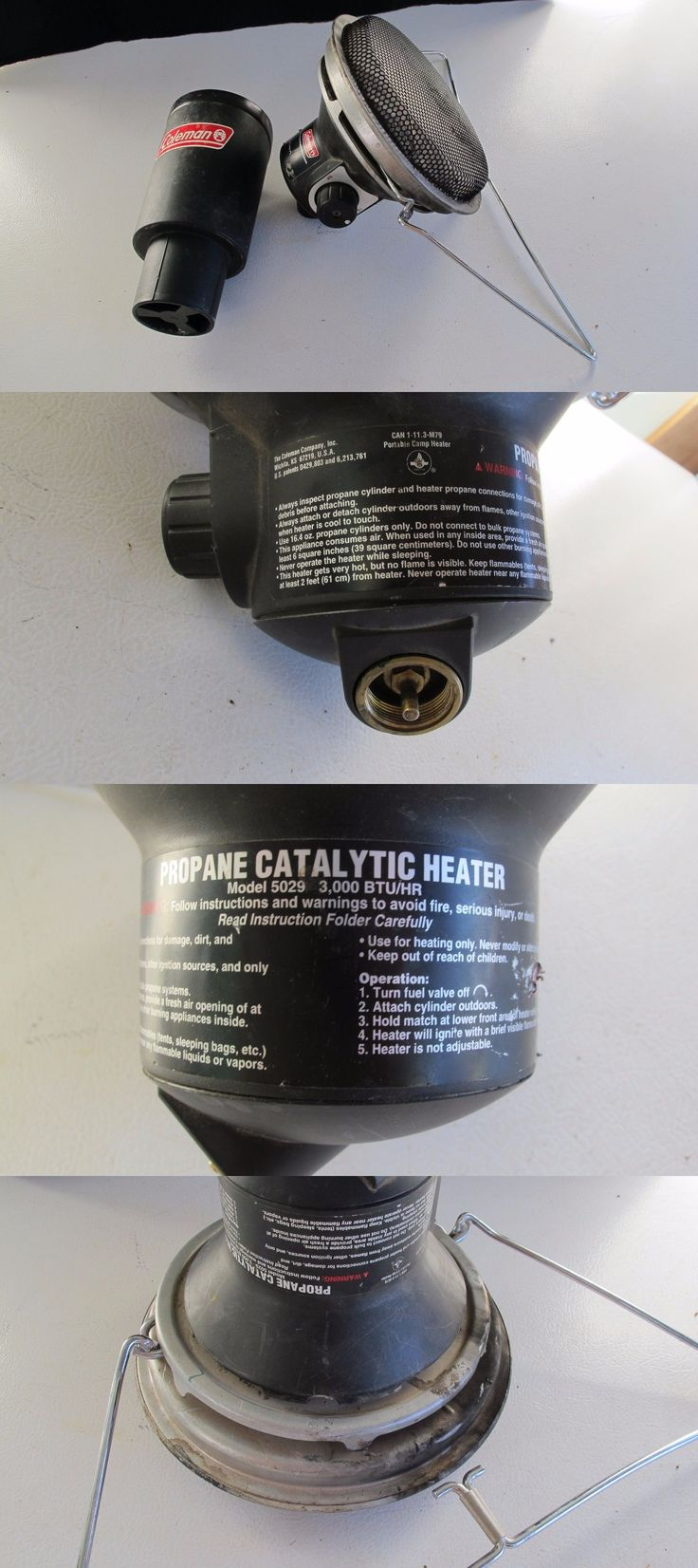 Generators and Heaters 16039: Coleman Portable Catalytic Propane Heater And Cup Holder Camping, Golf Cart, Tent -> BUY IT NOW ONLY: $34.95 on eBay!