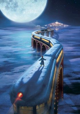 The Polar Express- the most magical Christmas film ever in my opinion, childhood memories