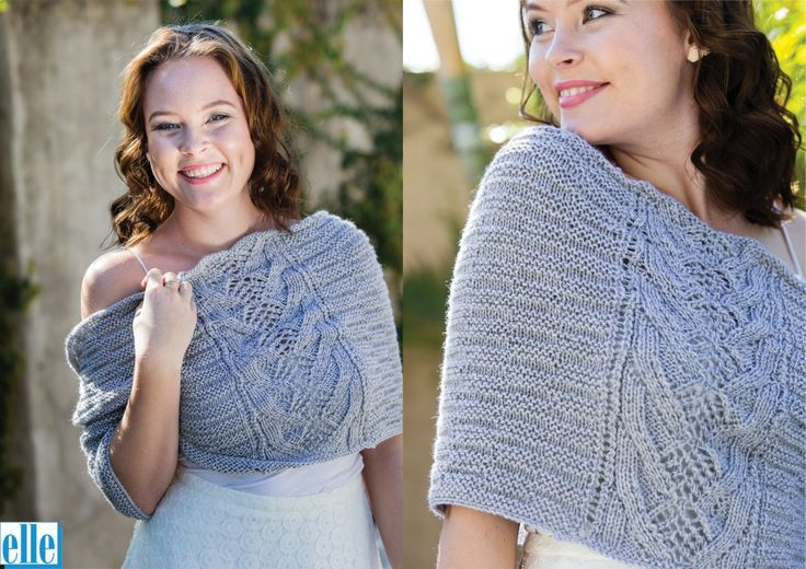 Shoulder Wrap  Brand: Elle Count: 3ply Yarn: Babykins One size only