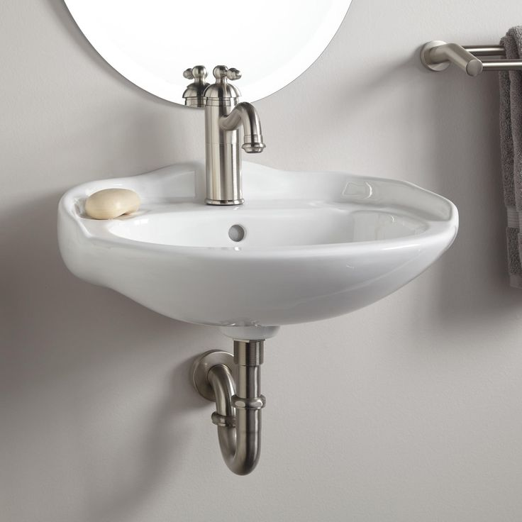 Gallery One Victorian Mini Porcelain Wall Mount Sink