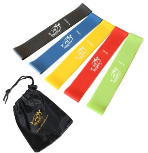 Fit Simplify Resistance Loop Bands - Love that this includes a travel bag so you can take these with you when you travel.