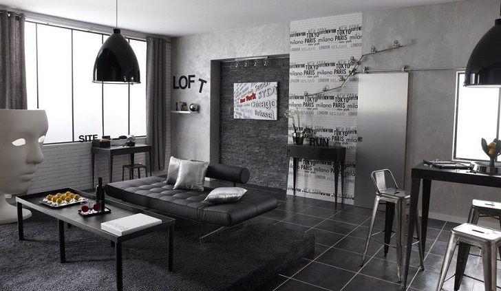 Peinture à effet Industrie MAISON DECO fer blanc, 5 kg prix promo Leroy Merlin 59.90 € / Unité.
