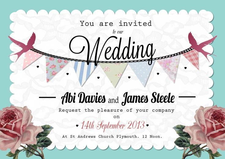 Wedding Stationery!