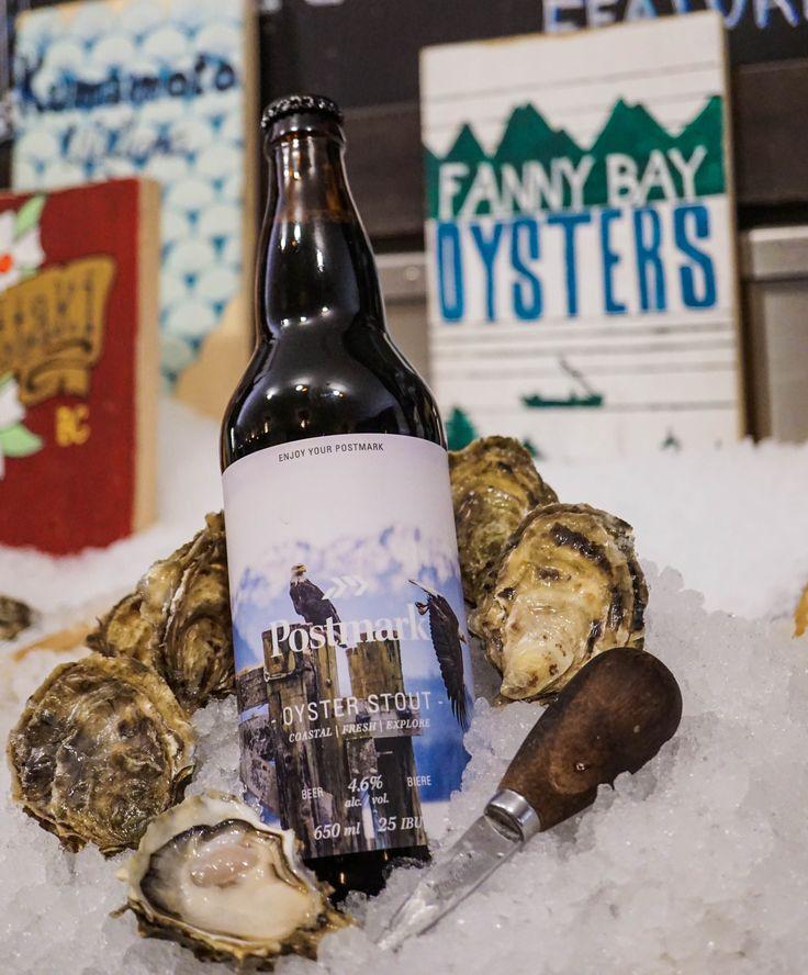Postmark Oyster Stout - Fanny Bay Oyster Bar