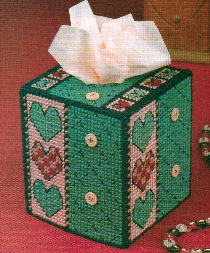 1000 images about plastic canvas tissue boxes on for Tissue box cover craft