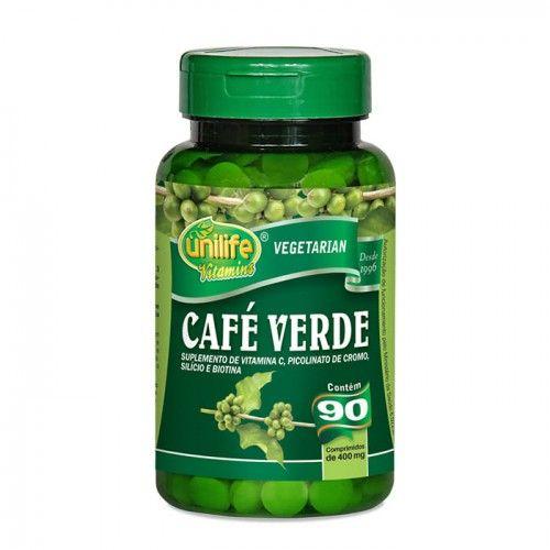 Café Verde 90 capsulas - Com Picolinato de Cromo e Vitaminas