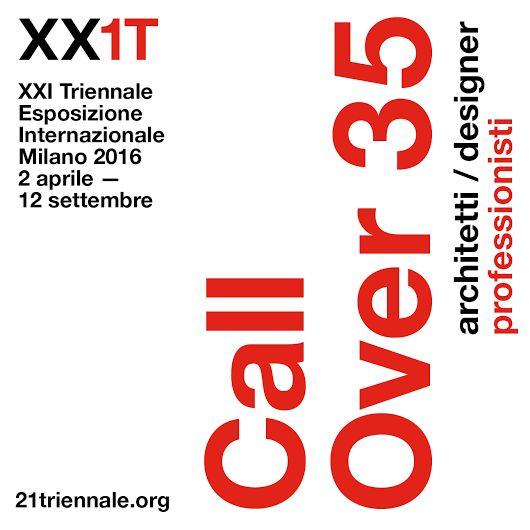 @nest.city selezionato Call over 35 @21triennale #XX1T