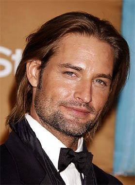 """Josh Holloway -- was so good in """"Lost""""--In my dreams, he was Aidan with an Aussie accent in my first Julno ms, Venom."""