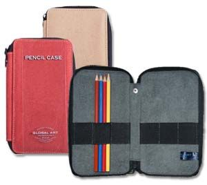 Canvas Artists' 24 Pencil and Brush Cases