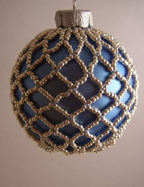 beaded christmas ornaments free patterns | Beaded Ornament Patterns