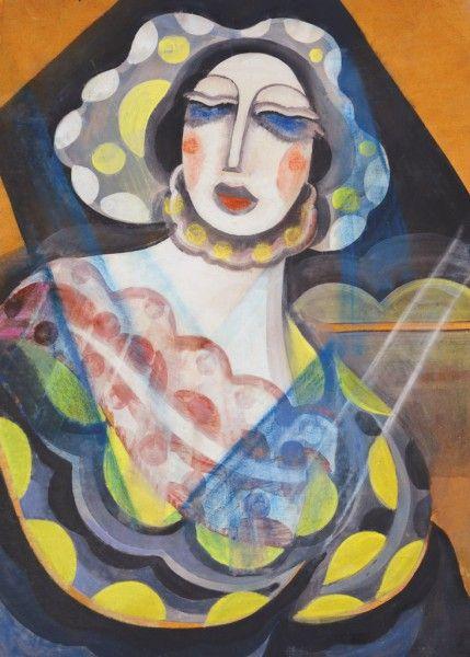 Art-Deco Hölgy