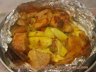 Τα φαγητά της γιαγιάς - Χοιρινό μπουτάκι κλέφτικο