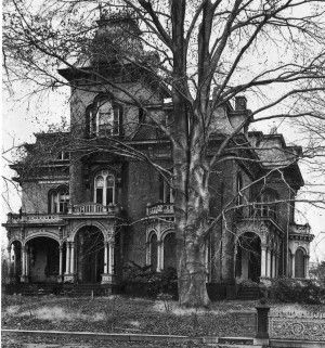 Wilcox Mansion built by Jedediah Wilcox in Meriden, CT in 1870. | Lamoreux/Lane Family Photos ...