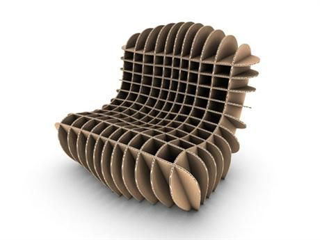 mc 205 cardboard chair. \u0027cardboard Lounge\u0027 Dutch Designer David Graas\u0027s Work Is Best Characterized By Its Combination Of Humour And Material Experimentation. His Works Often Mc 205 Cardboard Chair
